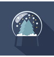 Snow Globe icon vector image