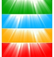 vector colorful banners vector image vector image