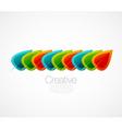 creative logo vector image vector image