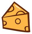 Cheese Cartoon vector image