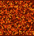 abstract background with multicolored triangles vector image