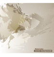 brown watercolor texture vector image