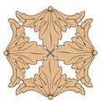 classic vintage baroque ornament vector image