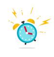 alarm ringing icon flat vector image