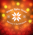Christmas Greeting Background vector image
