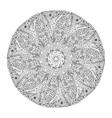 Mandala background Ornamental hand drawn vector image