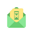 mail symbol envelope icon loading envelope vector image