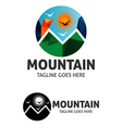 Mountain Logo 5 vector image