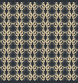 abstract vintage pattern fabric vector image