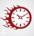 Time runs fast conceptual business icon clock vector image
