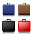 Suitcase set vector image