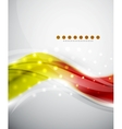 Smooth wave abstract background vector image vector image