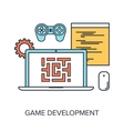 Game Development vector image