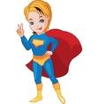 Super Boy vector image