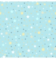 Abstract Seamless geometric pattern with scattered vector image