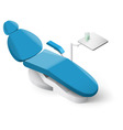 Dentist tools vector image