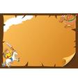 fairy tale frame vector image