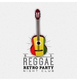 Reggae party insignia and labels for any use vector image
