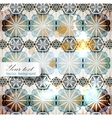Elegant background with repetitive elements vector image vector image