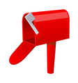 icon letter box vector image vector image