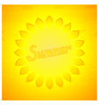 Abstract summer design vector image vector image
