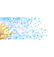 Spring or summer vector image vector image