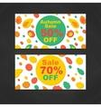 Autumn Sale Banners vector image
