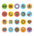 Baby Icons 2 vector image