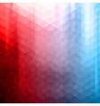 Colorful polygonal background vector image