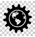earth engineering icon vector image