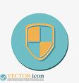 protect shield icon vector image