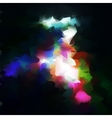 Abstract banner paints vector image