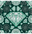 diamonds seamless grunge 02 vector image vector image