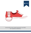 casual shoes design vector image
