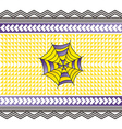 color spiderweb art vector image