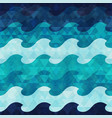 marine seamless pattern with grunge effect vector image