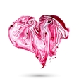 watercolor heart Hand drawn element for your vector image