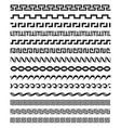 old mediterranean greek mythology pattern vector image
