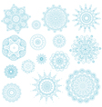 snowflake arabesque vector image