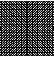Geometric simple black and white minimalistic vector image