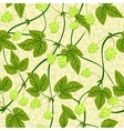 humulus seamless background vector image