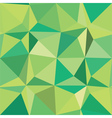 Dynamic Angles Green vector image vector image