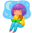 bedtime story vector image