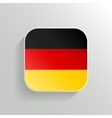 Button - Germany Flag Icon vector image