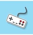 joystick web icon vector image