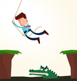 avoid an obstacle vector image