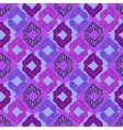 Seamless deep violet lattice pattern vector image