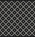 monochrome seamless pattern with rounded lattice vector image