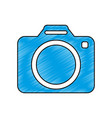 modern photographic camera vector image