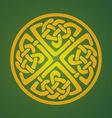 Celtic ornament symbol vector image